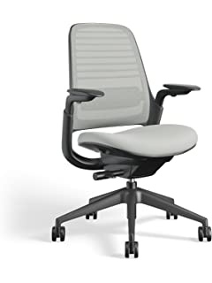 Steelcase 435A00 Series 1 Work Chair Office, Nickel