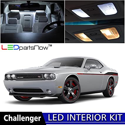 LEDpartsNow 2008-2017 Dodge Challenger LED Interior Lights Accessories Replacement Package Kit (10 Pieces & Amazon.com: LEDpartsNow 2008-2017 Dodge Challenger LED Interior ...