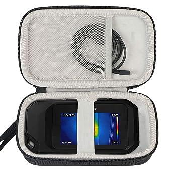 Khanka para FLIR C2/Flir C3 termocamera compacta, diseño Compacto EVA Duro Viaje Estuche