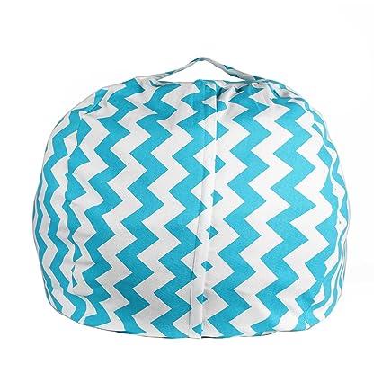 Amazon Com Ehonestbuy Stuffed Animal Storage Kids Bean Bag Chair