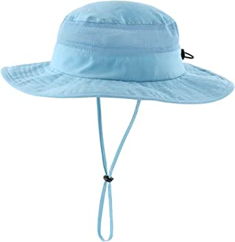 Connectyle Toddler Kids UPF 50+ Bucket Sun Hat Wide Brim UV Sun Protection Hat