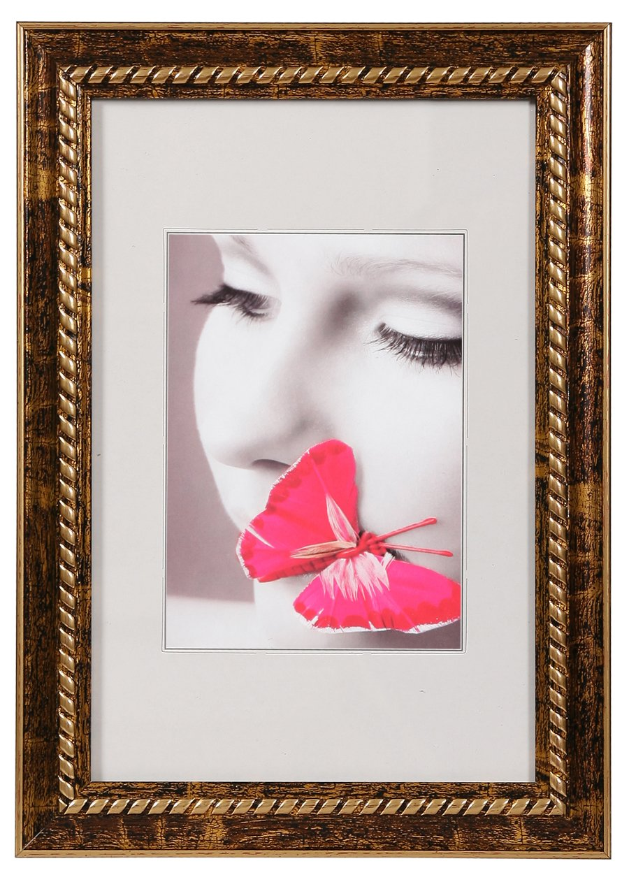 Antik Style Bilderrahmen aus Kunststoff in Antikgold 13x18 bis 40x50 ...