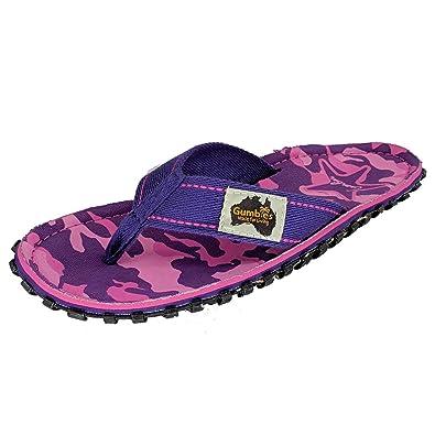 8bd7011f7cc8 Gumbies - Islander Canvas Flip-Flops - Women s - Cami  Amazon.co.uk ...