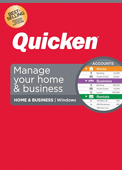 Top 9 Quicken 2015 Home And Business For Windows