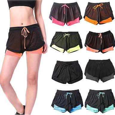 Vectry Pantalon Suelto Corto Mujer Pantalones Deportivos ...