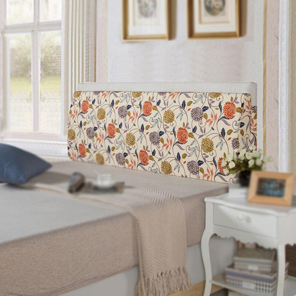 Soft padded pillow / sofa large backrest / bedside cushion / big triangle cushion on the bed / washable cushion / Bedside headrest ( Color : B , Size : 1805012cm )