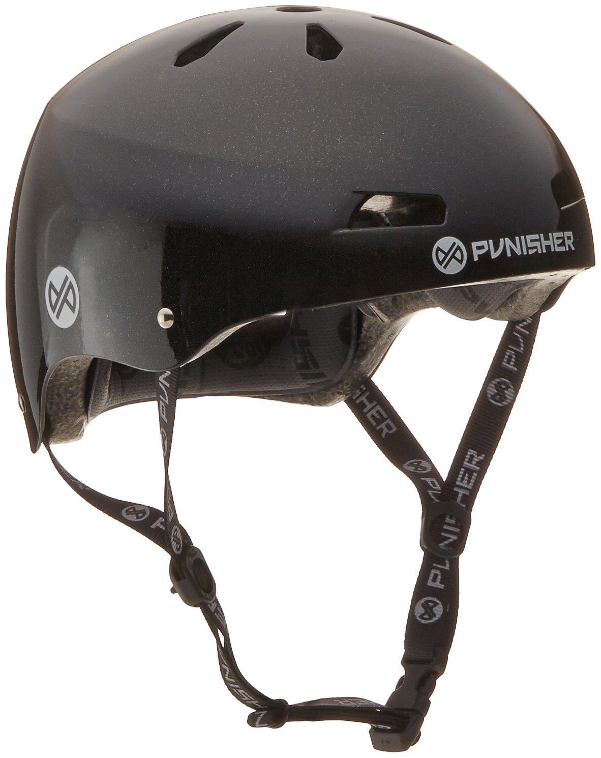 Punisher Skateboards Pro Series 13-Vent Dual Safety Certified BMX Bike and Skateboard Helmet