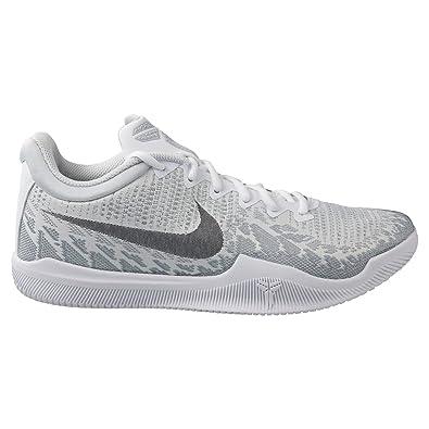 9962493635a45d Nike Herren Mamba Rage Weiß Textil Synthetik Sneaker  Amazon.de ...