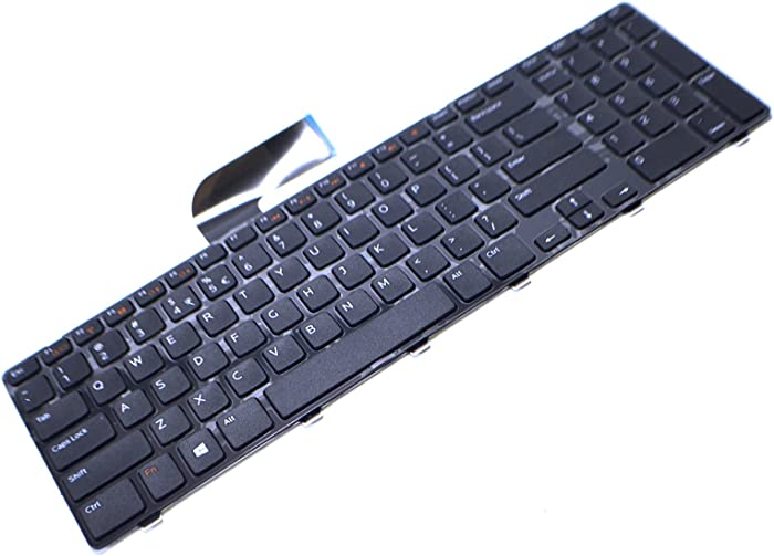 Dell M22MF New Genuine OEM XPS 17 L702X Vostro 3750 Inspiron 17R 5720 7720 N7110 Laptop Notebook US English 102 Key Keypad Input Typing DARFON Model NSK-DZ2SQ 1D Keyboard AER09R00010