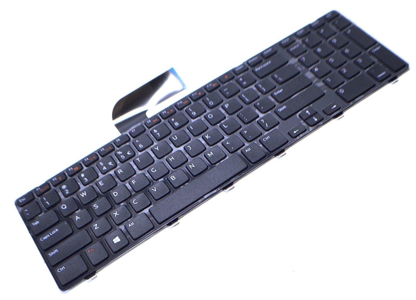 Dell M22MF New Genuine OEM XPS 17 L702X Vostro 3750 Inspiron 17R 5720 7720 N7110 Laptop Notebook US English 102 Key Keypad Input Typing DARFON Model NSK-DZ2SQ 1D Keyboard AER09R00010