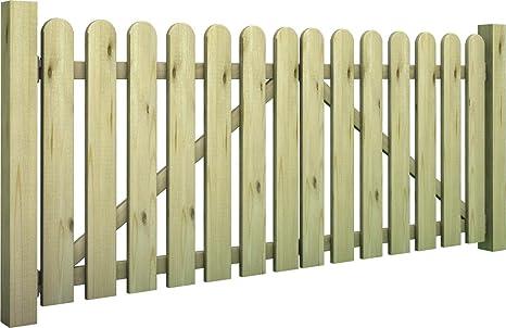 Cancello Di Legno Usato : Non solo arredo cancello teglio a due battenti in legno di