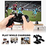 Cos2be PS4 Dual Shock Controller Charger charging