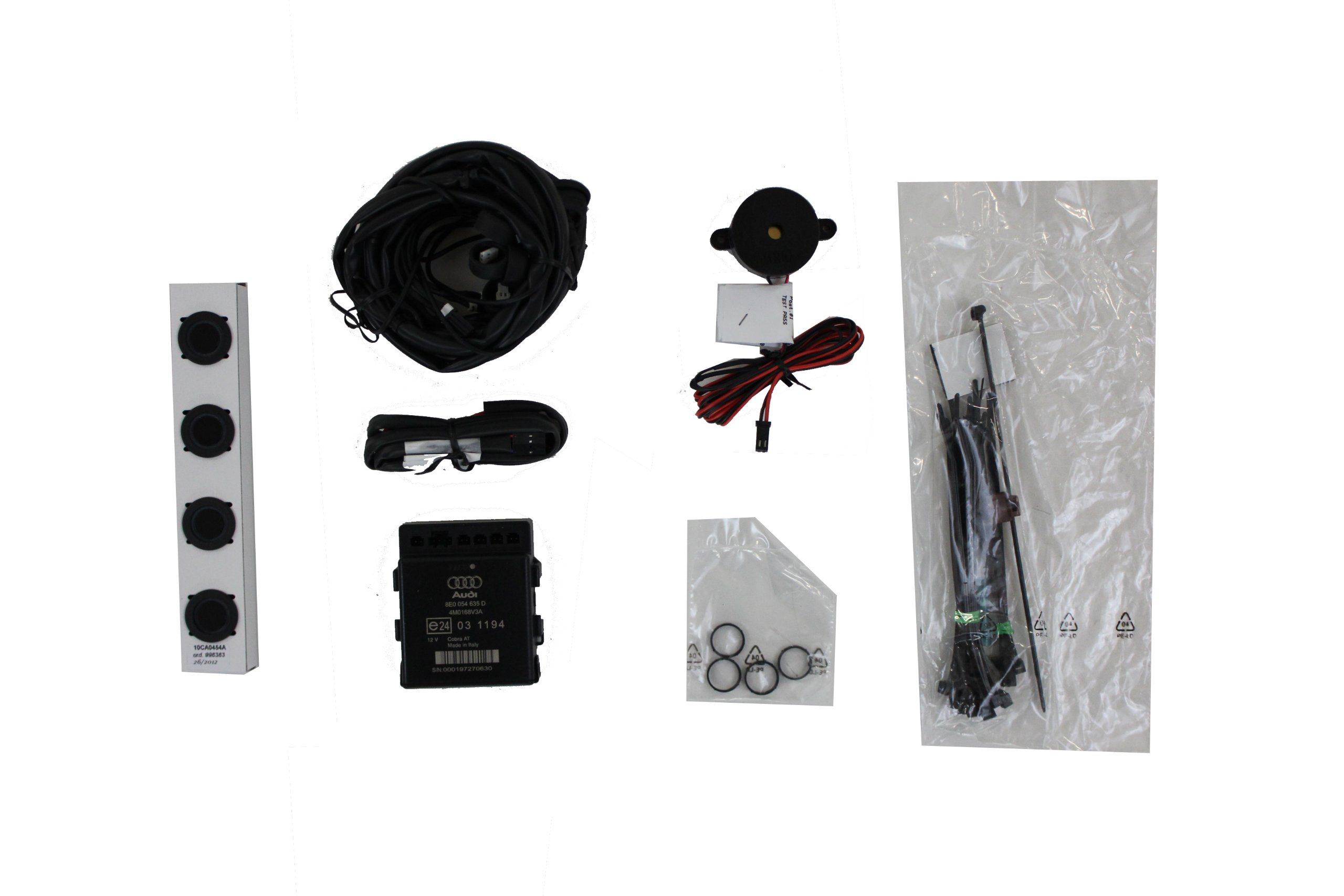 Genuiene Audi Accessories 8T0054630A Rear Parking Aid Kit for Audi A4