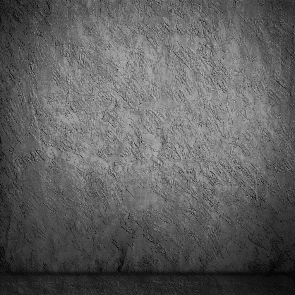 aofoto 6 x 6ft Artistic Backdrops写真背景ぼやけたセメント壁Dimグレー床Lovers Boy Kid幼児新生児Girl Portrait Scene Photo Shoot Studio Propsビデオ   B074Z4G776