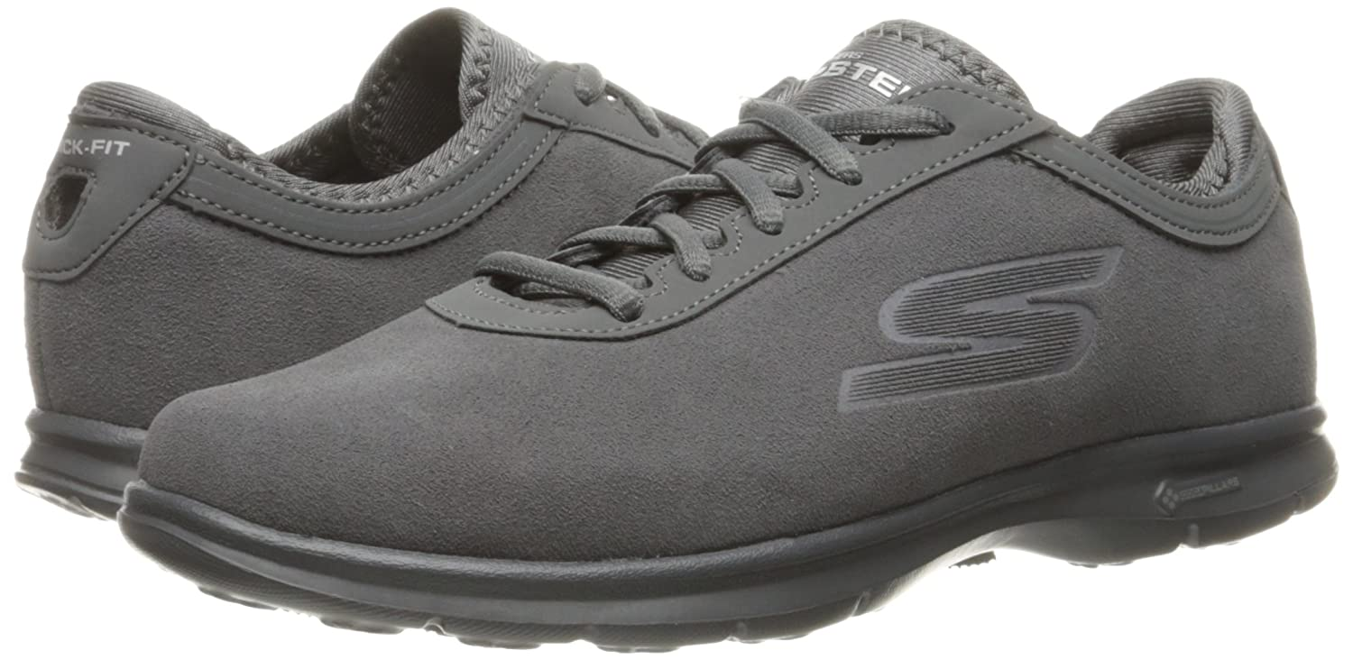 Skechers GO STEP INCEPTION INCEPTION INCEPTION Damen Schuhe GOGA MAT Foam schwarz Leder 118a07