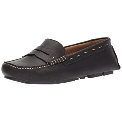 G.H. Bass & Co. Women's Patricia Driving Style Loafer, Black, 6 M US   Loafers & Slip-Ons