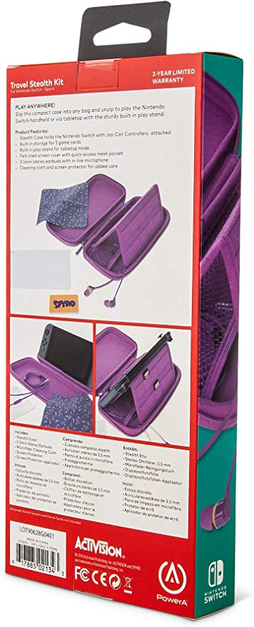PowerA - Kit de viaje sencillo Spyro (Nintendo Switch): Amazon.es ...