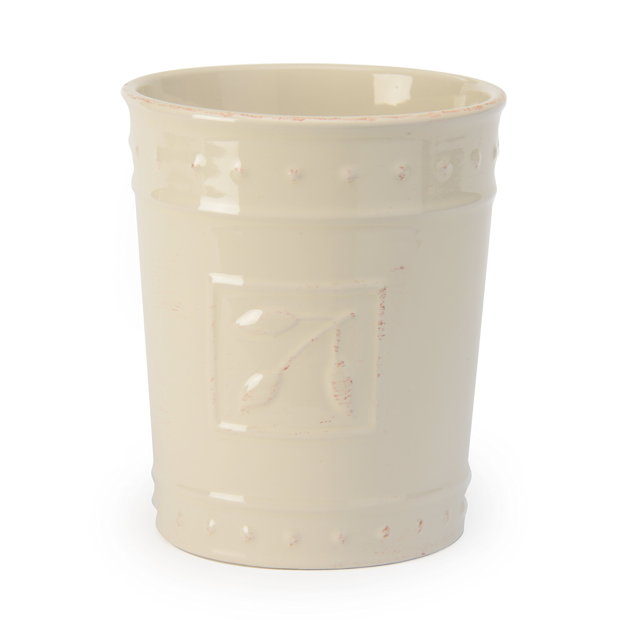 Signature Housewares Sorrento Collection Tool Jar, Ivory