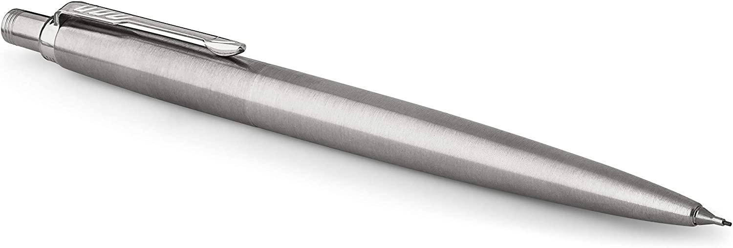 Parker Mechanical Pencil, Jotter, Stainless Steel with Chrome Trim, Medium Point (0.5mm)