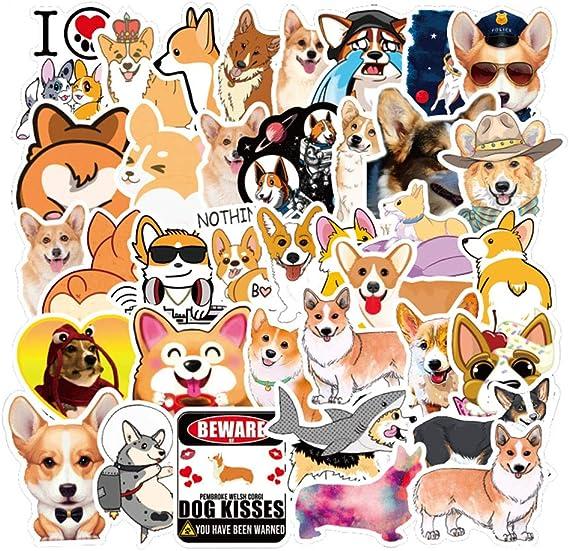 Ratgoo Stickers of Corgi Dog