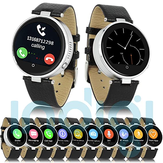 Indigi Smart Bluetooth Watch Heart Rate Monitor Fitness Tracker For iPhone iOS Android