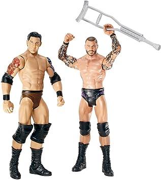 Mattel WWE Serie 18 - Pack de 2 Figuras de Barrett Randy Orton vs Wade: Amazon.es: Juguetes y juegos