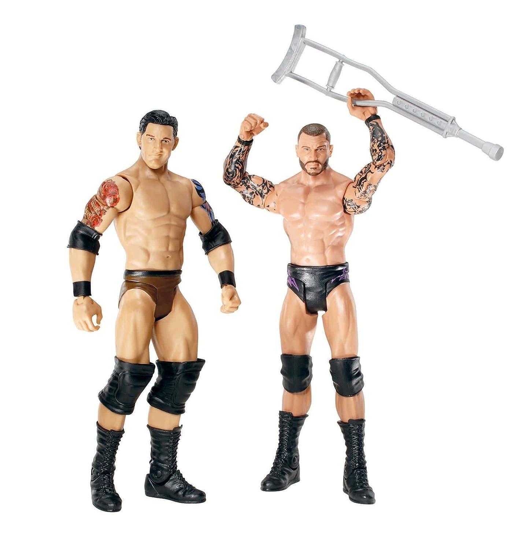 Sin impuestos Mattel WWE Serie 18 - Pack Pack Pack de 2 figuras de Barrett Randy Orton vs Wade  punto de venta