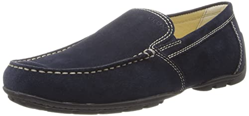 Geox Men's U Monet Art V Suede Moccasin