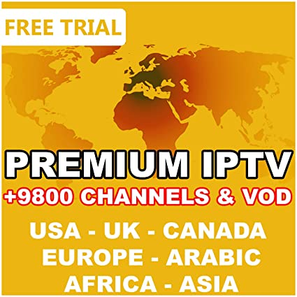 1 Year 12 Months Worldwide IPTV Subscription [USA, Canada,UK, Europe,  Arabic ]