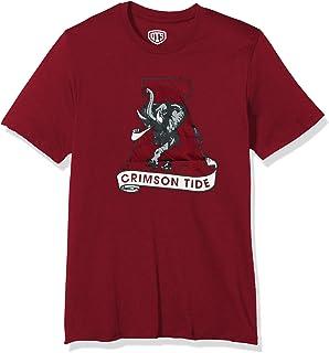 NCAA Creighton Bluejays Adult NCAA Retro Stacked Image One Everyday Short sleeve T-Shirt Large,HeatherGrey