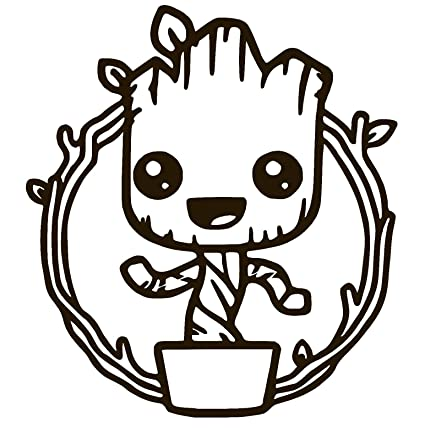 Amazon Com Baby Groot Cute Dancing Guardians Of The Galaxy Vinyl