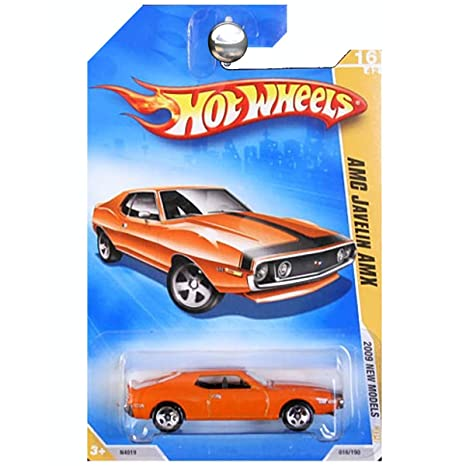 Hot Wheels 2009-016/190 AMC Javelin AMX New Models 1:64 Scale