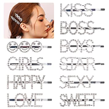 18Pcs Cute Girl Bobby Pin Baby Hairband Hair Ring  Hair Accessory Xmas Gift