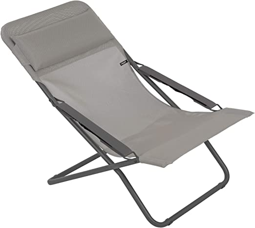 Sedia A Sdraio Moderna Lafuma.Amazon Com Lafuma Lfm28638556 Patio And Poolside Foldable