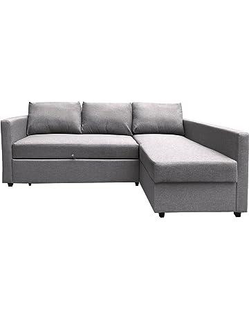 e860c7fc0ff6c8 Furniture 247 3-Sitzer L-förmige Schlafcouch
