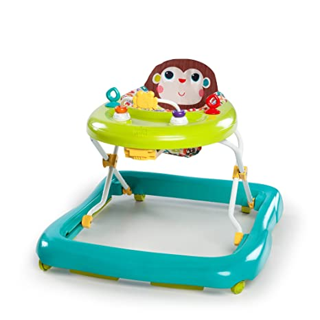 Amazon.com : Bright Starts Pattern Pals Walker, Green : Baby