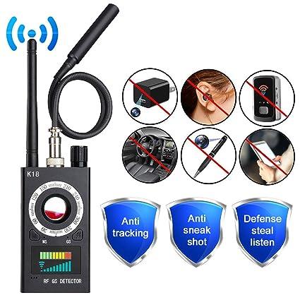 RF Detector & Camera Finder Upgraded RF Signal Detector Anti