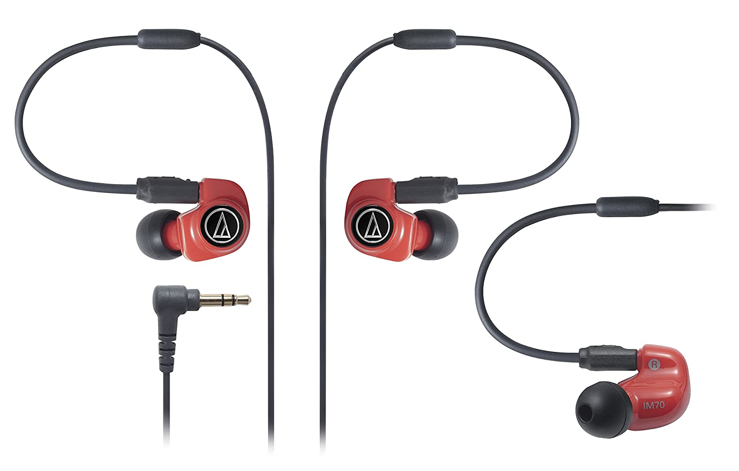 Audio-Technica ATH-IM70 Dual symphonic-driver In-ear Monitor (Japan Import)