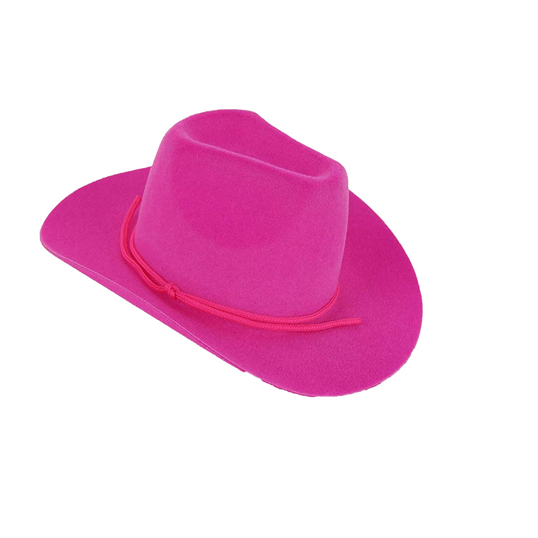"PINK Cowboy WESTERN HAT Fits 18/"" American Girl Doll"