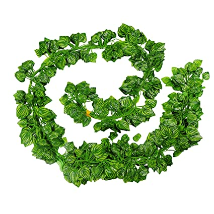amazon com calcifer 12 pack 82 ft artificial vines with leaves