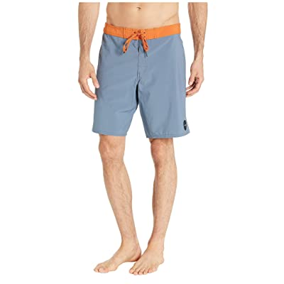 "RVCA Men's Va Solid 19"" Trunk Blue 28: Clothing"