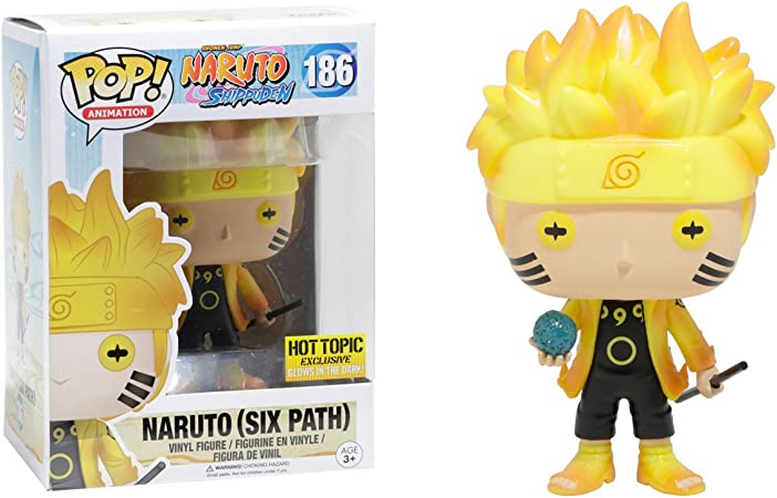 Amazon.com: Funko POP! Muñeco de Naruto (Six Path ...