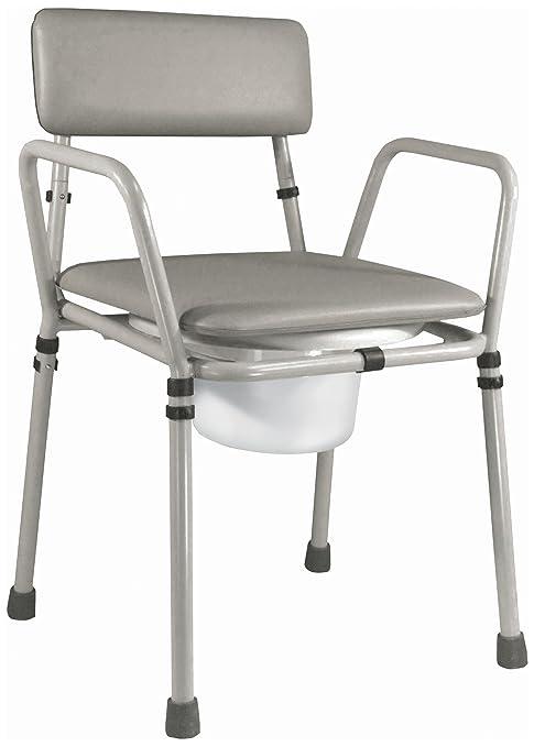 6 opinioni per Aidapt VR161G Essex- Sedia WC ad altezza regolabile, da assemblare