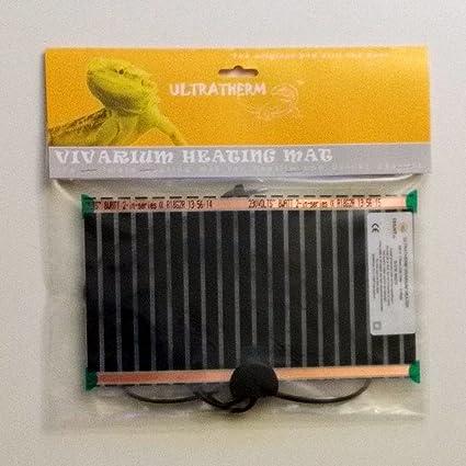 Manta termica calor para animales y reptiles 8W de 18 x 28cm