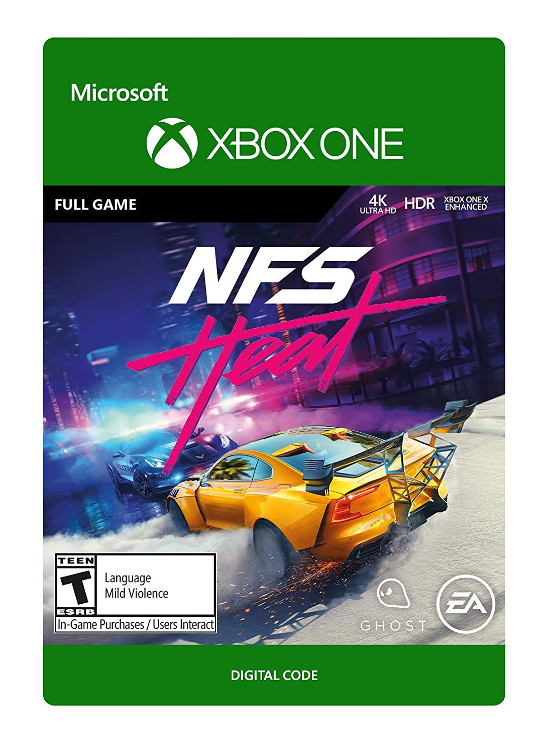 Amazon Com Need For Speed Heat Standard Edition Xbox One