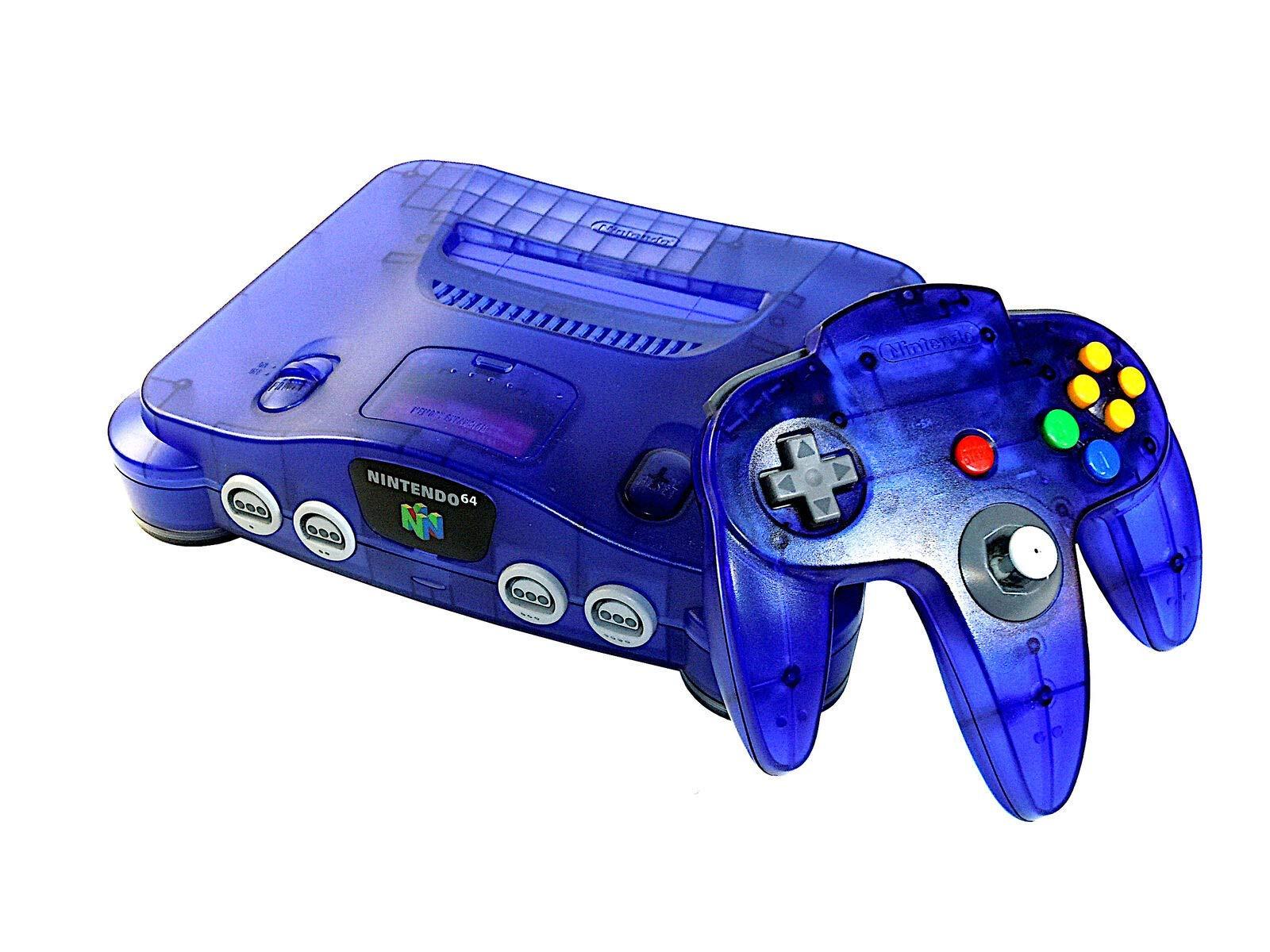 Nintendo 64 Console - Grape (Renewed)