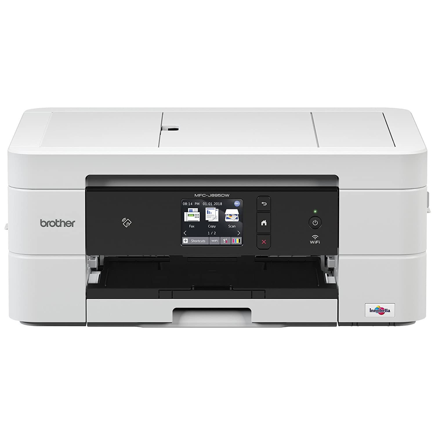 Brother MFC-J895DW A4 Colour Inkjet Printer, Wireless, PC Connected and  NFC, Print, Copy, Scan, Fax and 2 Sided Printing