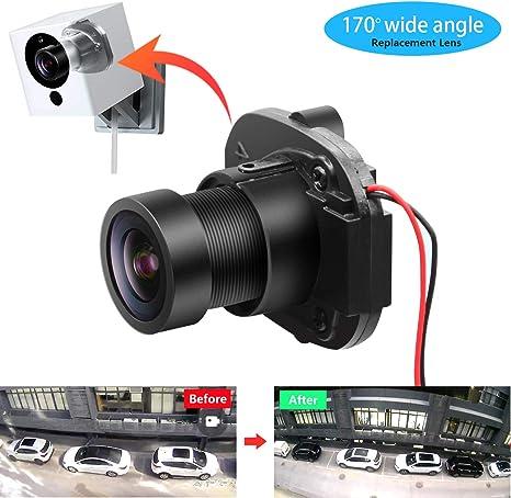 Lente Gran Angular de 170 ° para cámara Wyze CAM V2 V1 e Ismart ...