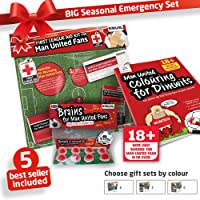 """""""ICE"""" EMERGENCY GIFT KIT for Manchester United F.C. Fans 