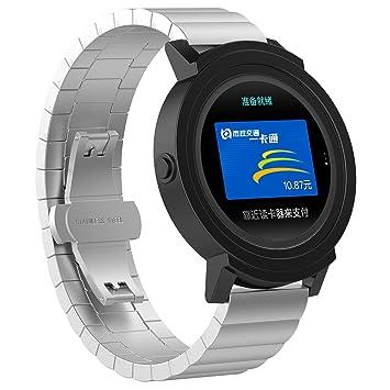 XIHAMA Correa para Smartwatch de 20mm, Bracelet Recambio de ...